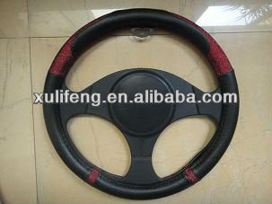 New simple pu car steering wheel cover of china 2014