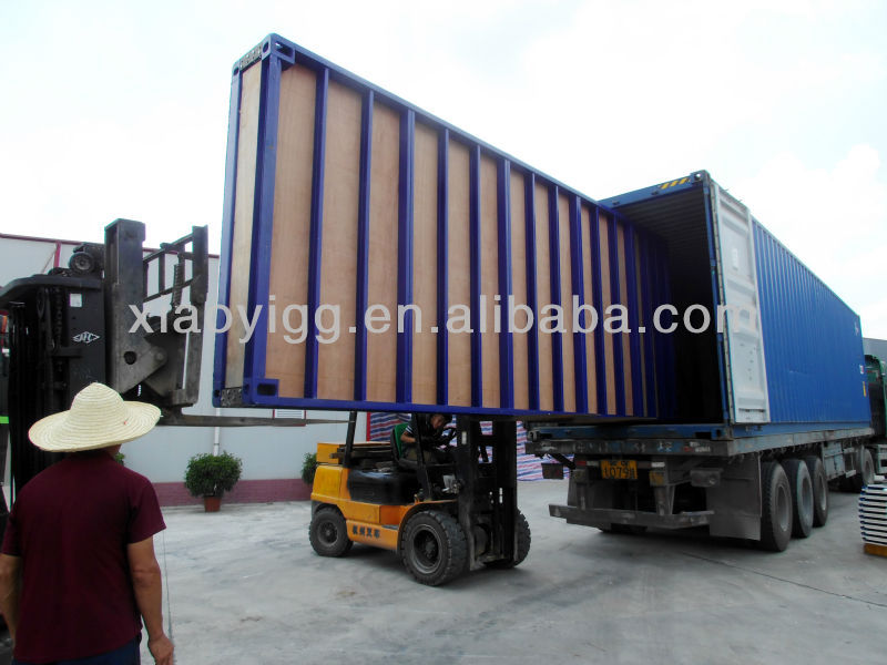 Eco-friendly and foldable container house