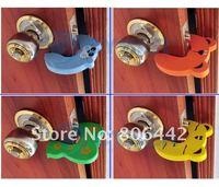 Угловые накладки на мебель для защиты детей 20Pcs/Lot Child kids Baby Animal Cartoon Jammers Stop Door stopper holder lock Safety Guard Finger Protect