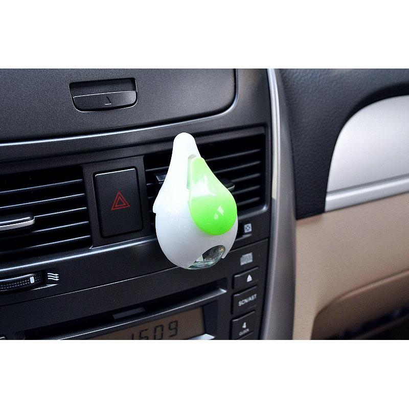 CarSetCity Cute Drop Car Air Freshener Cologne Green