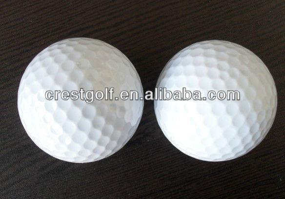 2014 Two-piece yellow golf range ball(manufacturer golf balls)