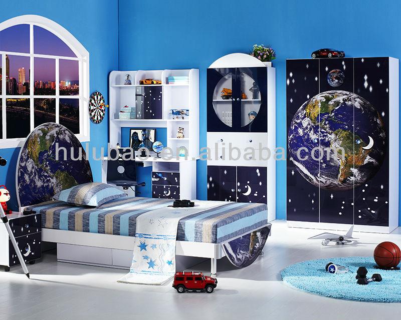 Niños muebles de dormitorio conjunto barato niñas cama/juego de ...