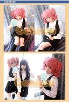 Парик косплей New Style Roromiya Karuta Short Pink Full Party Customs Cosplay wig G02