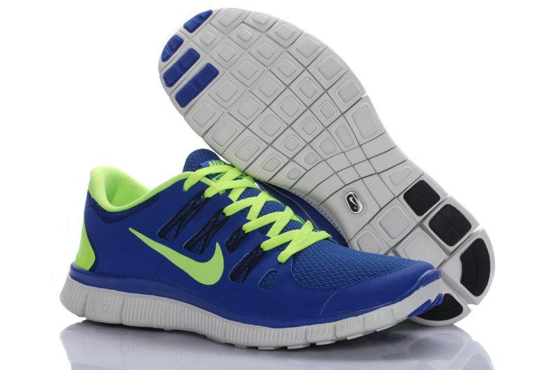 Nike running shoes for men blue