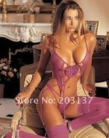 Корсет Adult Lingerie Super Sexy Hot Purple Corset Dress + G string L size