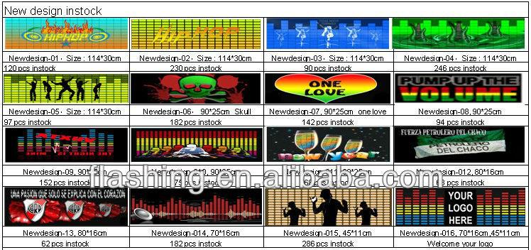 Free sample Hot selling el equalizer car sticker