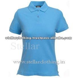 100% cotton Womens polo t-shirt - Fit - Lightbule.jpg