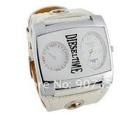 Наручные часы Fashion WaMaGe 9580 Leather Strap Men Boys' Watch big quadrate dial wrist watch