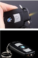Зажигалка Cigarette Lighter, Brand Car Controller Shaped, Windproof, LED Lamp, Multi-function, Come With Key Ring 10/Lot, Boyfriend Gift