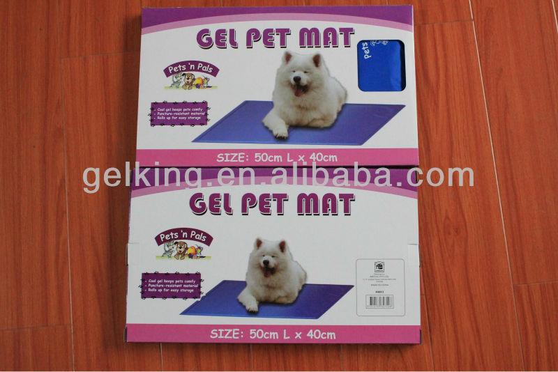 Cooling pet gel mat