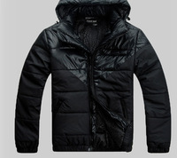 Мужской пуховик winter men's clothing thermal space suit lining wadded jacket cotton-padded jacket outerwear male