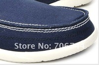Мужские кроксы 2012 hot sale Men's Recreational canvas shoes, walu sneaker shoes size:M7-M11 casual shoes