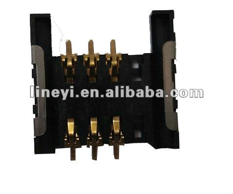Compact Type SIM Card Connector