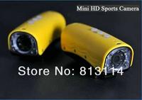 Потребительская электроника 10pcs RD32 Sports DVR Camera Head and Bike camera 20M waterproof, Shockproof, 5.0 Mega pixels, wide angel Mini DVR Camera Recorder