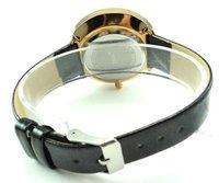 Free Shipping Wholesale Sport fashion wrist watch,leather quartz watch,crystal women watch Sample Order $15(mix ok)5-2911