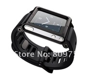 MOQ:1pcs,Lunatik Multi-Touch  Watch band Aluminum Case for iPod Nano 6,HK Post Free Shipping