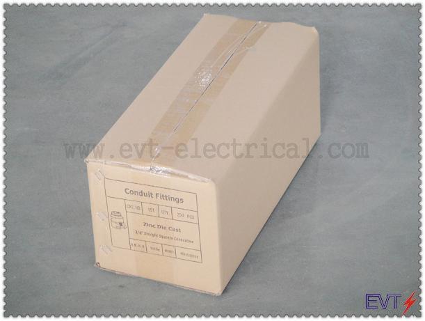 Conector Recto para Conduit Metalico Flexible