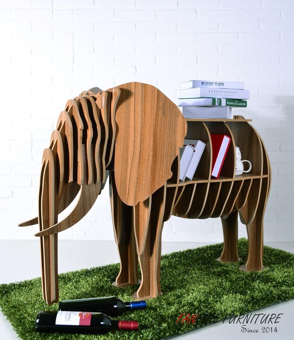 fanfine мебель предметы интерьера Черный слон смарт Ассамблея ремесел стиль таблицы