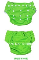 Wholesale Baby girls/boys' Cartoon Brief Cloth Diapers, TPU Fabric Nappy Cover, 8colors Underwear/8pcs/Many colors to Choose