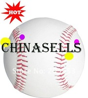 Тоары для бейсбола и софтбола 11pcs hot new in stock baseball stitch ball PU 9inch, 5oz hand-stitched ship