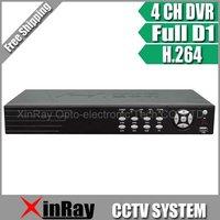 CCTV Видеорегистратор XinRay DHL 4/DVR h.264 Full d1, RS485 PTZ, cctv DVR , xr/2004 XR-2004