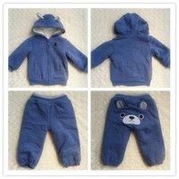 Комплект одежды для девочек Hot new winter suit cotton children's wear cute little bear suit jacket + Pants 2-6T