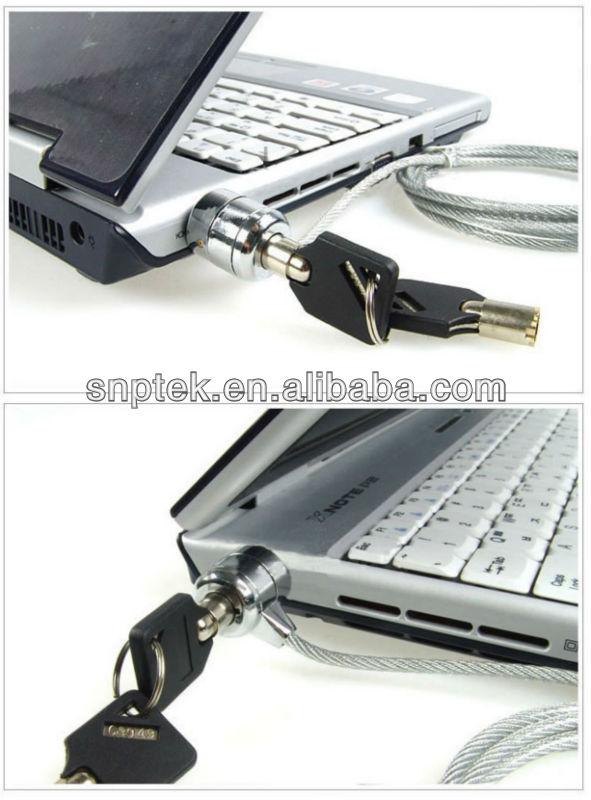 Laptop Locking Cable Laptop Lock Key Type pc Lock