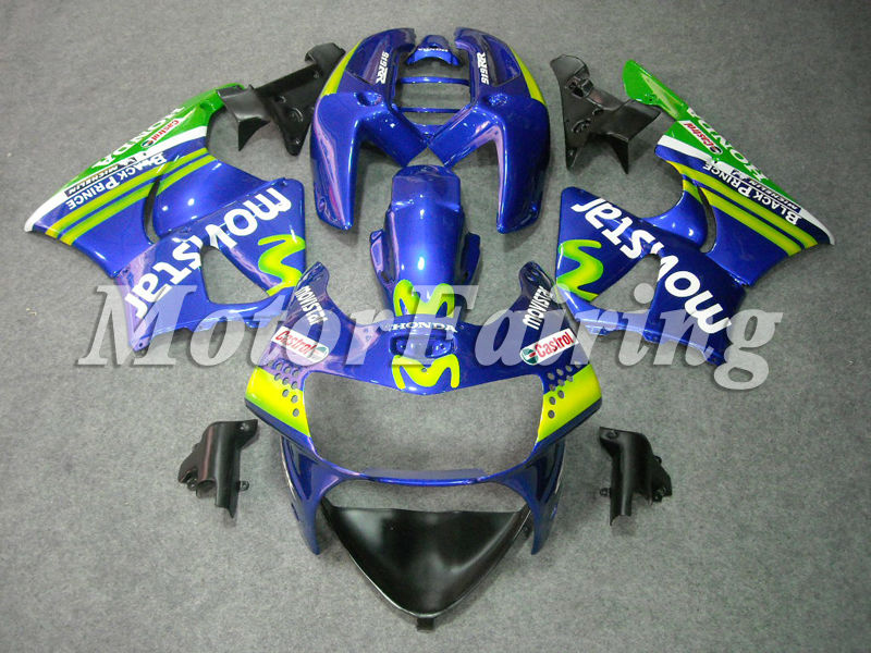 cbr 900rr cbr900rr fairings 1998-1999 for honda cbr900rr fairing kit cbr919 98 99 cbr 919 rr bodykit movistar blue green