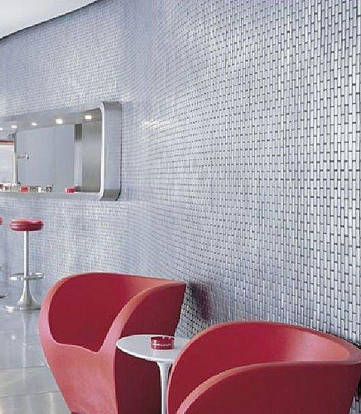 Mi14 striscia argento e rame colore cucina mattonelle della parete ...