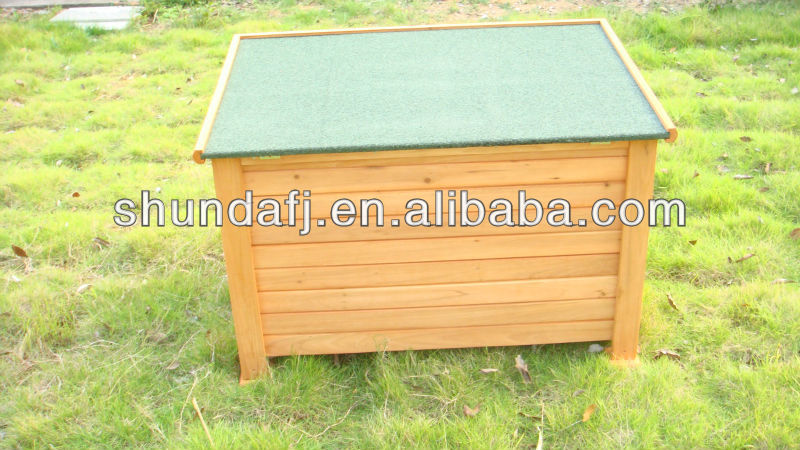 SDD06 Promotional Waterproof Large Wooden Dog Kennel