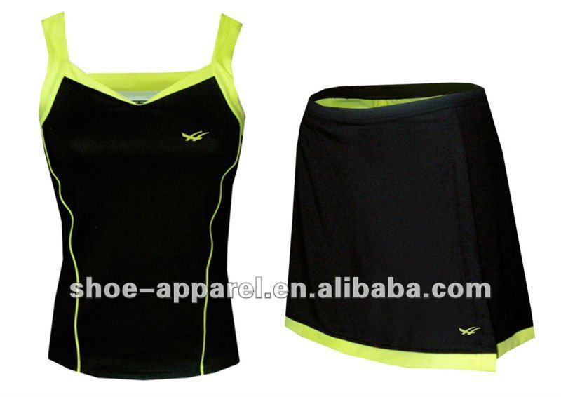 2014 sexy lady's tennis skirt , tennis uniform,tennis wear