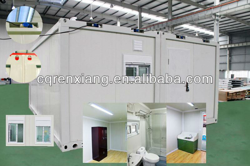 RX High Insulation Residential Modular Prefab Container Warm Houses