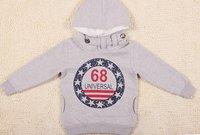 Толстовка для мальчиков Korea style baby coat, boy's hoody printed number 68