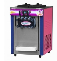 Промышленная машина New 3 Head TableTop Soft Ice Cream Yogurt Machine 220v 50hz/60hz Sea SHipping