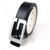 Женская одежда из кожи Mens Waist Belt Strap Alloy Buckle Faux Leather Waistband Fashion JX0078