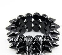 продаете! панк-хип-хоп заклепки прядь браслет браслет хиппи ювелирные изделия -2 цвета