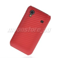 CARBON FIBRE HARD BACK CASE COVER  FOR SAMSUNG S5830 GALAXY ACE FREE SHIPPING