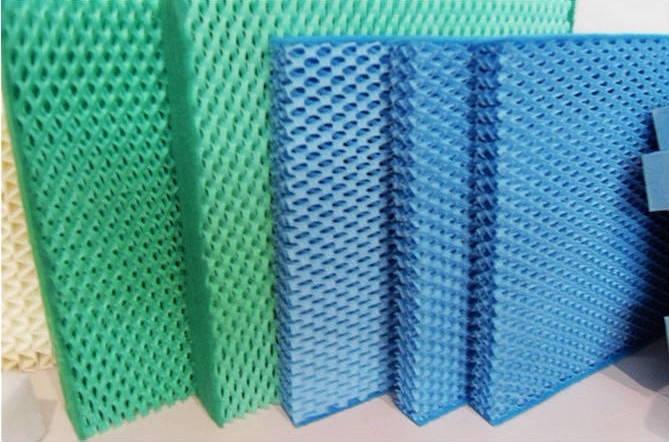 haute qualit d 39 eau par vaporation refroidisseur plaquettes pour humidificateur pi ces d. Black Bedroom Furniture Sets. Home Design Ideas