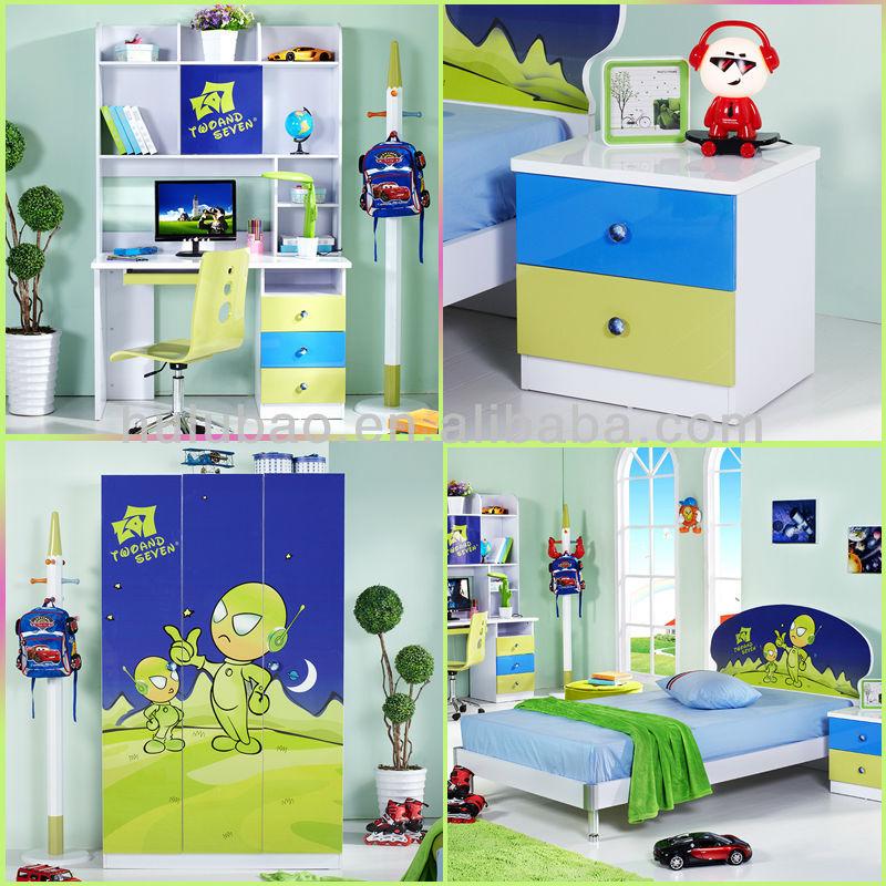 어린이 어린이 만화 책장과 침대와 침실 가구 책상 가구-어린이 ...