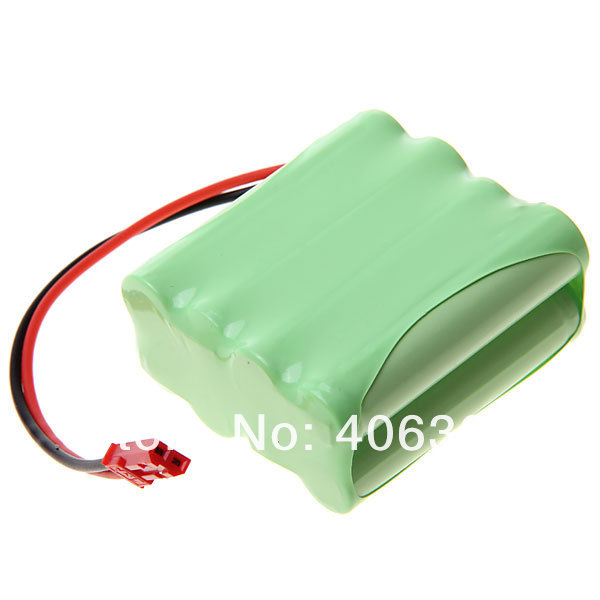 Ni-MH 3A 9.6V 800mAh Battery Pack with Red Plug-8 Pcs a Pack - -3.jpg