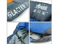 free shipping outdoor camping  single cotton sleeping bag Traveller TR-08630