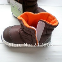 Детские ботинки 2013 fall winter infant baby waterproof soft bottom baby warm cotton boots baby toddler shoes snow boots B0315