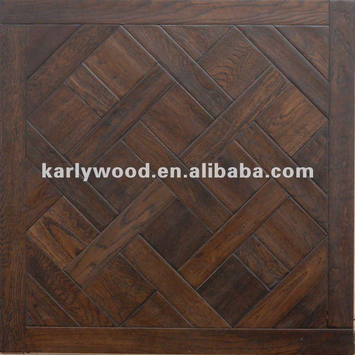 Manual Hand-scraped American White Oak Multi-layer Parquet Wood Flooring