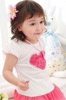 Платье для девочек children's tutu baby girl dress kids wear flower Princess T-shirt kids clothing Children apparel