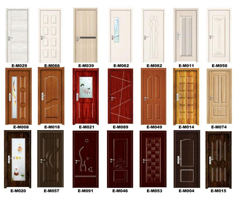 china good price home washroom melamine door quality interior timber door design
