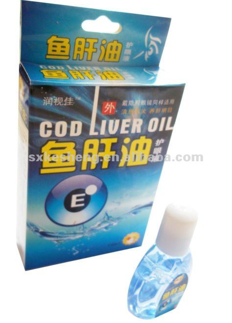 new cod liver oil eye drops