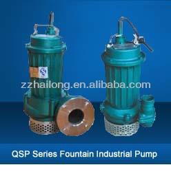High Efficient WQ centrifugal submersible pump