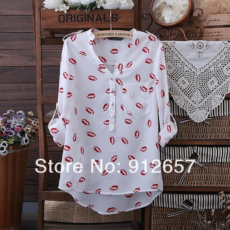 Блузка С Губами