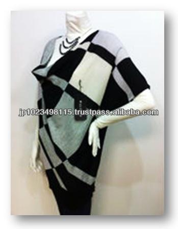 verschiedene arten von rau gestrickten pullover von japanischen unternehmen