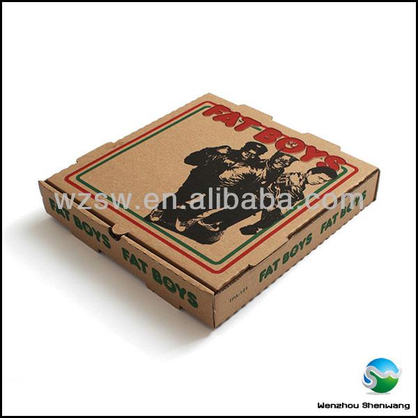 book report in a pizza box